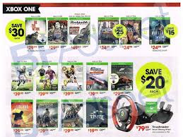 xbox one for black friday gamestop black friday leaked catalog has deals on xbox one