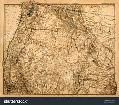 Map Of Northwest Us Pacific Northwest Clipart Map