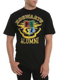 harry potter alumni shirt harry potter hogwarts alumni t shirt hot topic