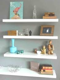 wall ideas intersecting squares decorative white wall shelf home