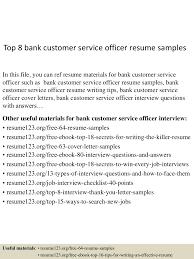 Banking Resume Samples by Customer Service For Banks Resume Bank Teller Skills Sample