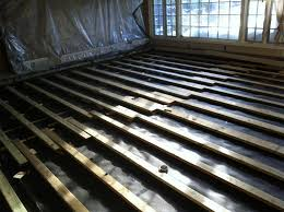Basement Subfloor Systems - sleeper floor concrete 28 images how to install engineered