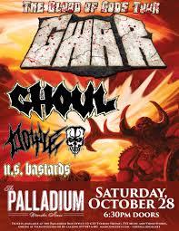 The Palladium Gwar U2013 The Blood Gods Tour U2013 Tickets U2013 Palladium