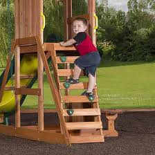 backyard swing set playground kids outdoor playset slide children