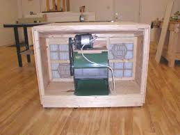 Downdraft Table Plans And Build Notes For Wood Shops - Downdraft table design