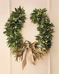 Christmas Tree Wreath Form - metallic wreath martha stewart