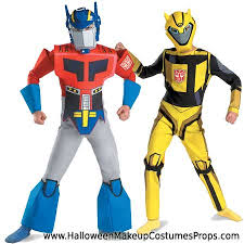 Halloween Costumes Sales Discount Optimus Prime Bumblebee Transformers Costumes Sale