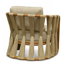 Palecek Chairs Palecek Strings Attached Lounge Chair Natural Candelabra Inc