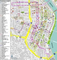 map of oregon portland portland oregon travel guide at wikivoyage