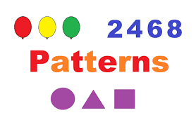 pattern and numbers learning patterns with colors shapes and numbers youtube