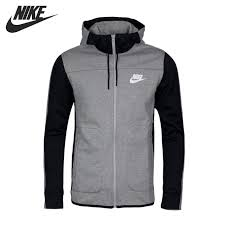 original new arrival 2017 nike nsw av15 hoodie fz flc men u0027s jacket