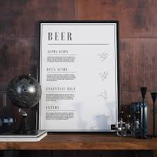beer poster product page