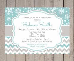 Baby Shower Invited Invitation For Baby Shower Mesmerizing Winter Wonderland Baby