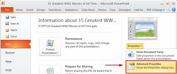 Count Word In Pdf How To Count The Number Of Words In Powerpoint 2003 2007 2010