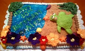 Tropical Themed Cake - seven deadly sweets our cakes throughout the years tropical luau