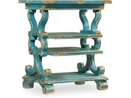 Green Accent Table Hooker Furniture Living Room Sanctuary Rectangle Accent Table 5409