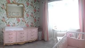 pink peonies nursery floral wallpaper in the nursery project nursery