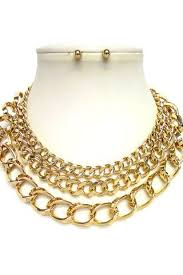 fashion chain necklace images Restocked fashion necklace jpg