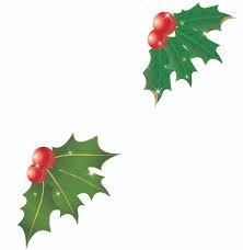 christmas clipart christmas bells and mistletoe clipartfox