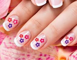 23 cute floral nail art designs