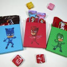 12 pj mask party favor cover box candy lovelyhandscrafts