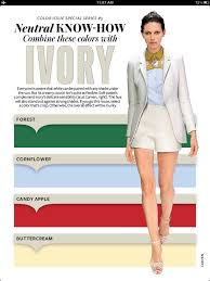 color tips to match clothing 14 best instyle neutral know how images on pinterest color