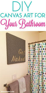Wall Art Ideas For Bathroom Best 25 Bathroom Canvas Art Ideas On Pinterest Bathroom Canvas
