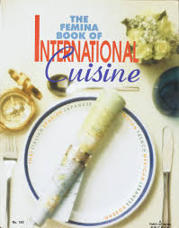 femina cuisine cover of the cookbook that also contained many images of