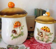 vintage ceramic kitchen canisters sears ceramic kitchen canister sets ebay