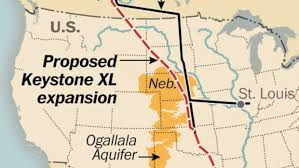 Keystone Map Sd Landowners Support Keystone Pipeline Or Are Resigned To It
