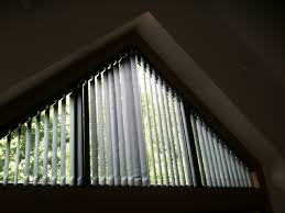 triangle window coverings vertical blinds used in triangular