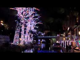 san antonio tree lighting 2017 christmas on the san antonio river walk youtube