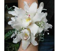 cheap corsages for prom wedding or prom corsage with rhinestone spray accents