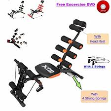 Bench Abs Workout Abs Rocket Chair Abdominal Fitness Multi 6 Gym Trainer Exerciser