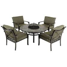 patio dining sets with fire pits fire pit awesome outdoor dining sets with fire pit outdoor