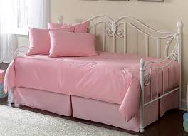 solid pink paramount daybed bedding from southern textiles