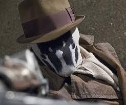 Rorschach Halloween Costume Moving Rorschach Masks