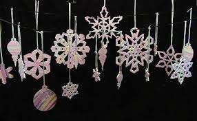 more snowflakes and canes polymer clay