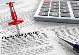 W 4 Withholding Table Claiming Exemptions U2014the W 4 For Dummies Robergtaxsolutions Com