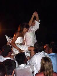 Jewish Wedding Chair Dance Prince Harry U0027s Girlfriend Meghan Markle Plays Drinking Games On