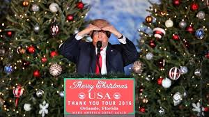 wishes americans a merry explodes