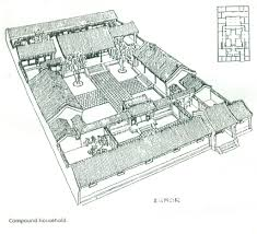 asian style house plans a siheyuan a style of chinese courtyard house asian pinterest
