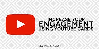 Youtube Business Card Want The Most Youtube Engagement Implement Cards Digital Brew