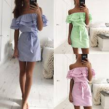 summer dresses womens strapless summer dresses ebay