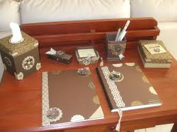 Stylish Desk Accessories Elegant Desk Accessories Hungrylikekevin Com