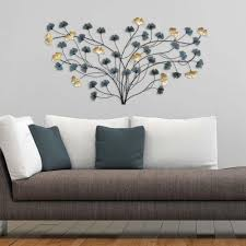 Teal And Brown Wall Decor Stratton Home Decor Stratton Home Decor Framed Laser Cut Wall