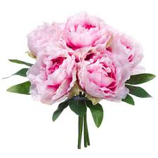 artificial peonies 11 silk peony silk flower bouquet orchid pink at www silks