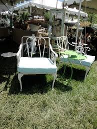 vintage aluminum garden furniture plain u0026 elegant antiques
