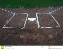 Home Plate by Home Plate And Batters Box Royalty Free Stock Images Image 94899