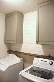 best place to buy cabinets for laundry room cabinets and shiplap in the laundry room 100 room